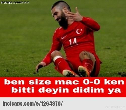 Türkiye-İspanya maçı capsleri! 24