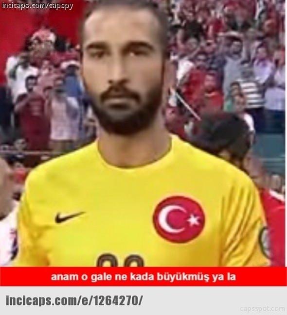 Türkiye-İspanya maçı capsleri! 25