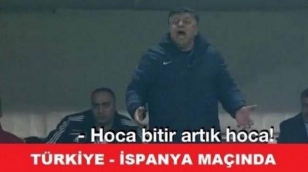 Türkiye-İspanya maçı capsleri! 28