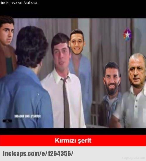 Türkiye-İspanya maçı capsleri! 3