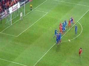 Türkiye-İspanya maçı capsleri!