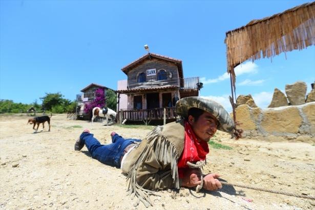 Teksas değil Yörük köyü Aksaz 10