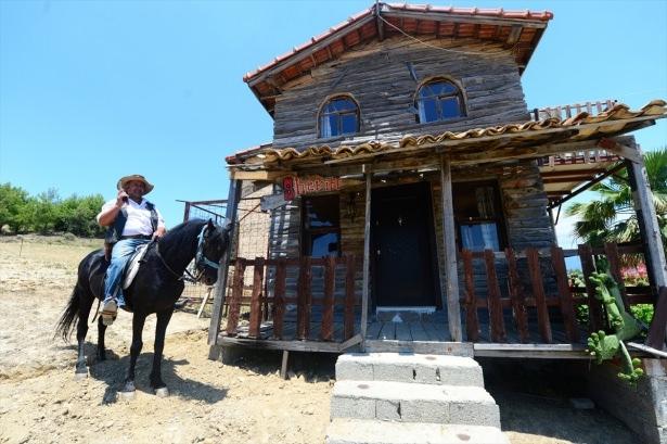 Teksas değil Yörük köyü Aksaz 12