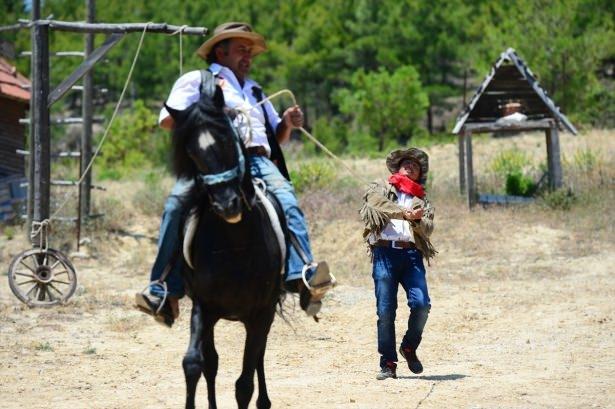 Teksas değil Yörük köyü Aksaz 19