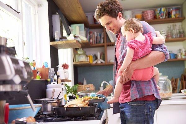 Babalar yaptığında tadı mükemmel oluyor! 1