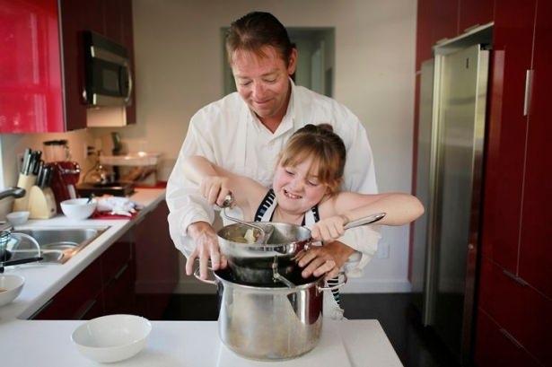 Babalar yaptığında tadı mükemmel oluyor! 2