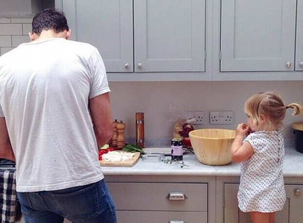 Babalar yaptığında tadı mükemmel oluyor! 8
