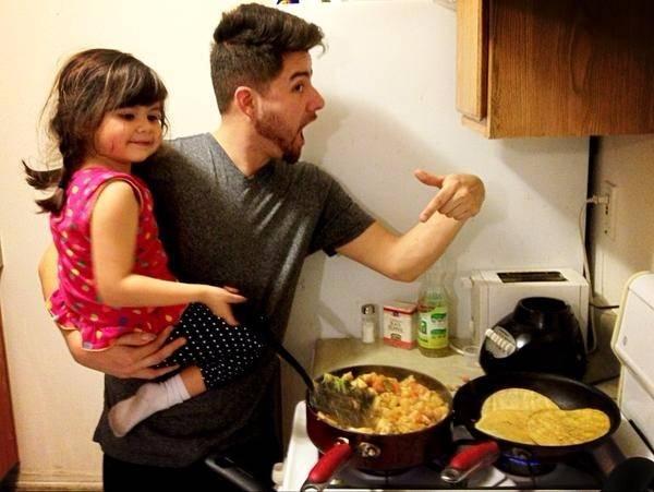 Babalar yaptığında tadı mükemmel oluyor! 9