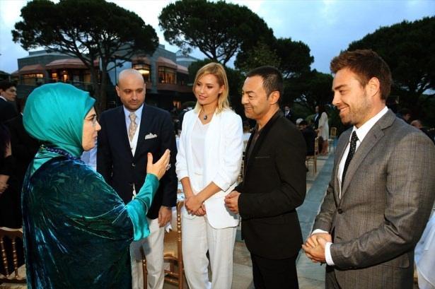 Erdoğan sanatçı ve sporcuları ağırladı 1