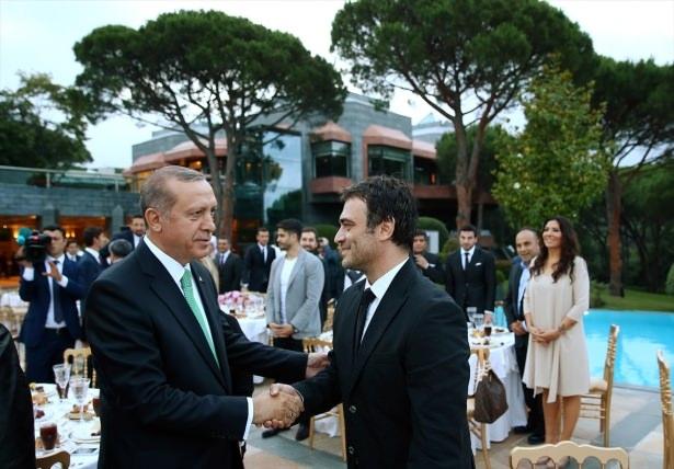 Erdoğan sanatçı ve sporcuları ağırladı 18