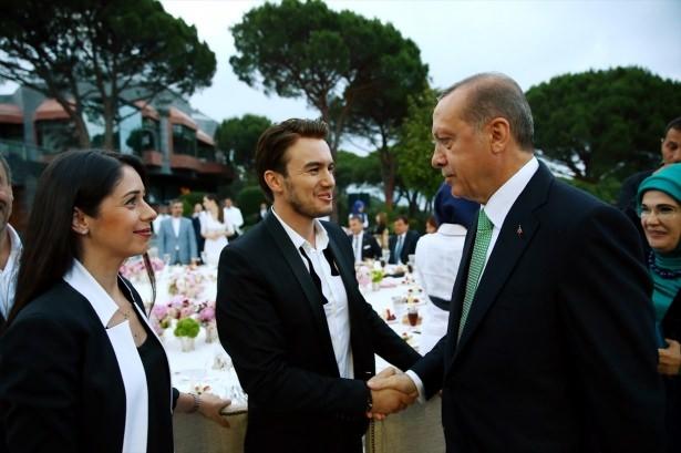 Erdoğan sanatçı ve sporcuları ağırladı 28