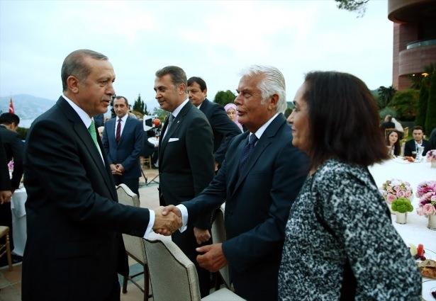 Erdoğan sanatçı ve sporcuları ağırladı 29