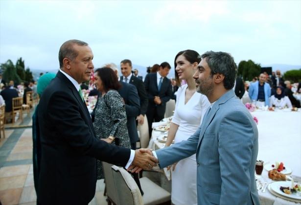 Erdoğan sanatçı ve sporcuları ağırladı 30