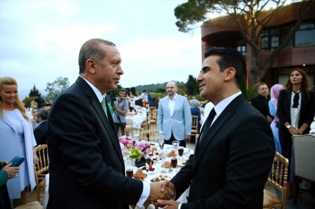 Erdoğan sanatçı ve sporcuları ağırladı 32