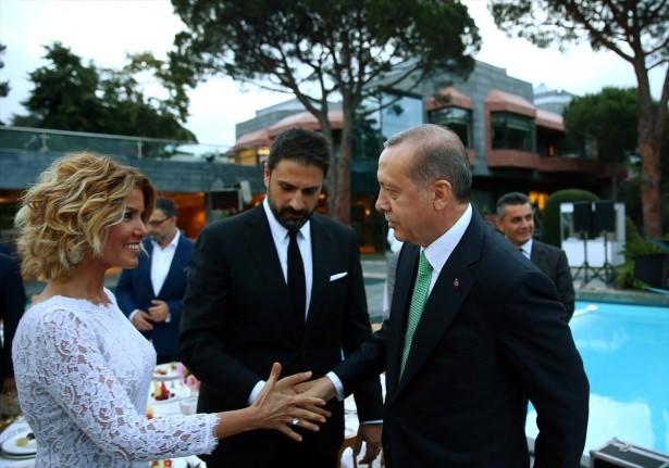 Erdoğan sanatçı ve sporcuları ağırladı 33