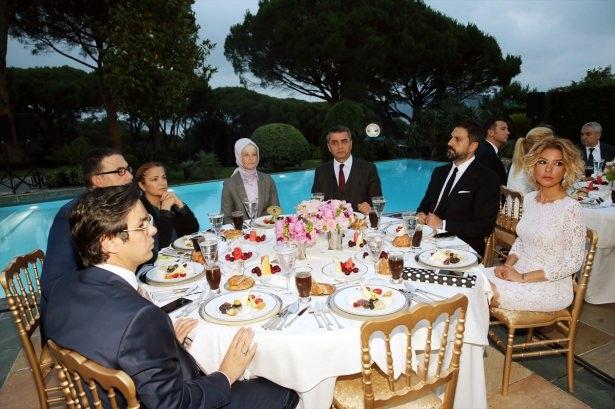Erdoğan sanatçı ve sporcuları ağırladı 5