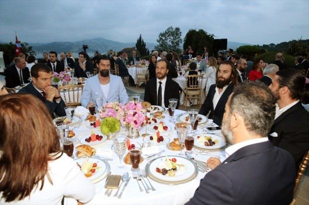 Erdoğan sanatçı ve sporcuları ağırladı 7