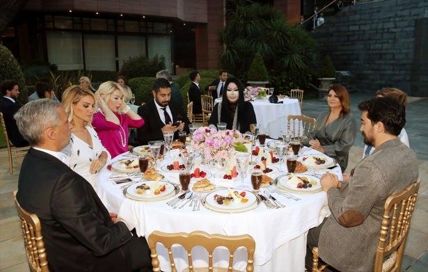 Erdoğan sanatçı ve sporcuları ağırladı 8