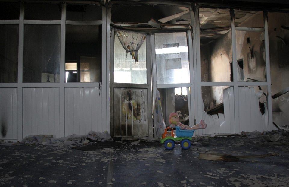 Teröristler anaokuluna saldırdı! 3