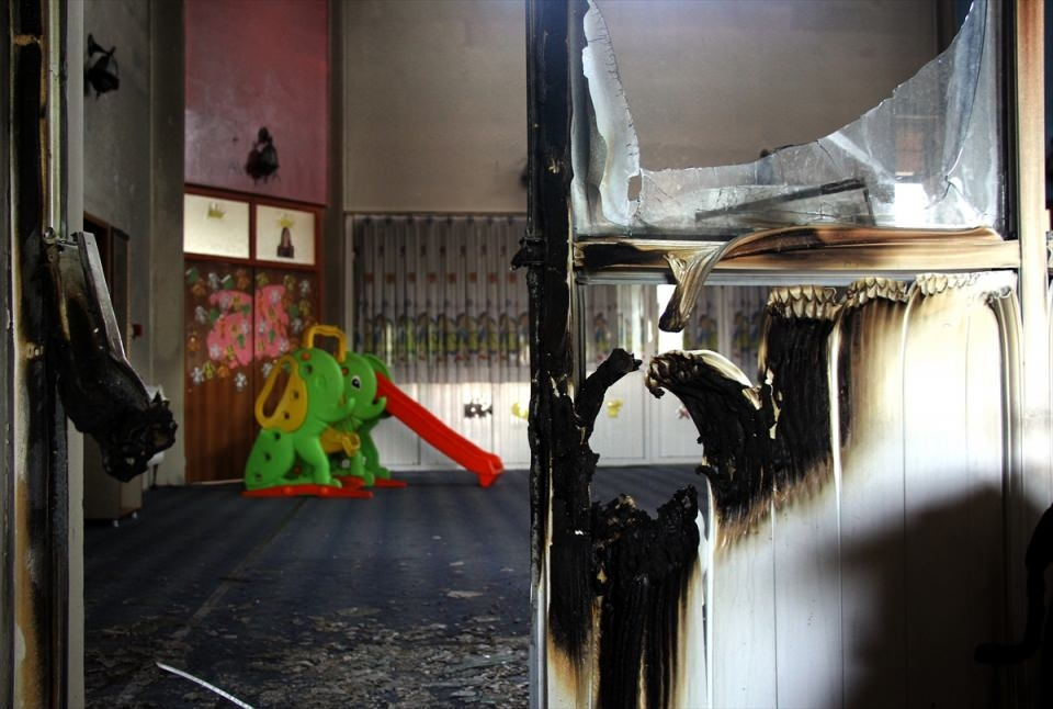 Teröristler anaokuluna saldırdı! 7