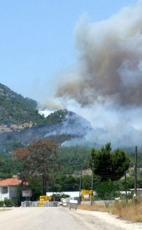 Tatil cenneti alev alev yanıyor! 24