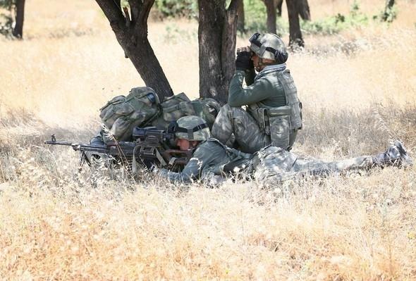 24 taburla dev operasyon görüntülendi! 24
