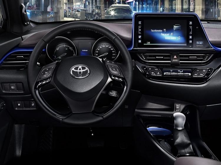 Toyota C-HR'nin iç mekanı ortaya çıktı 12