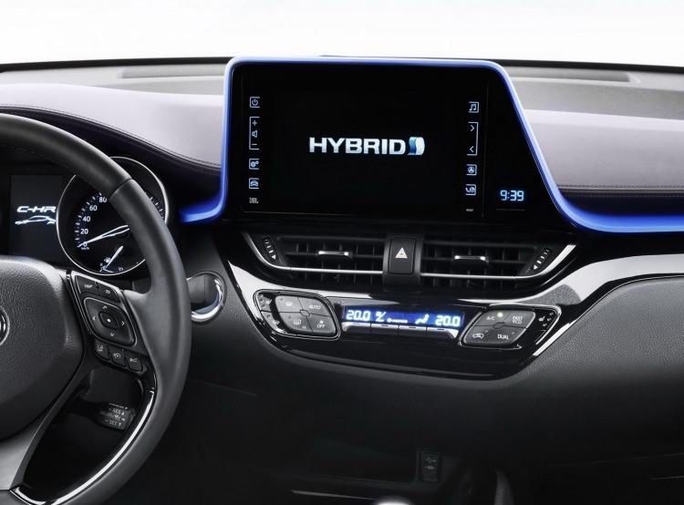 Toyota C-HR'nin iç mekanı ortaya çıktı 13