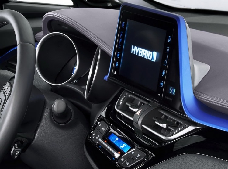 Toyota C-HR'nin iç mekanı ortaya çıktı 14