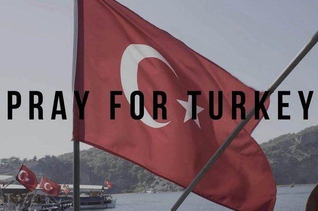 Dünya Türkiye için dua ediyor! 20