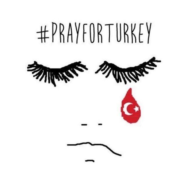 Dünya Türkiye için dua ediyor! 8