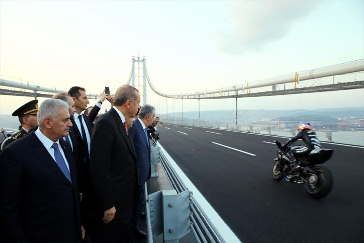 Osmangazi Köprüsü açıldı! Muhteşem kareler 1