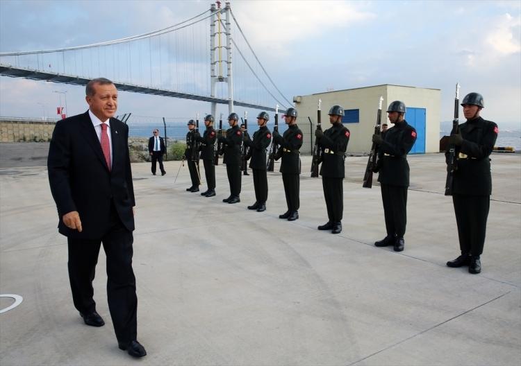 Osmangazi Köprüsü açıldı! Muhteşem kareler 101