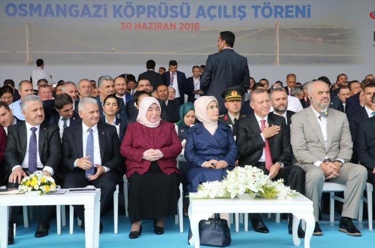 Osmangazi Köprüsü açıldı! Muhteşem kareler 102