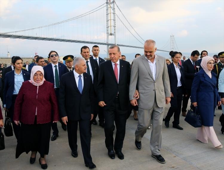 Osmangazi Köprüsü açıldı! Muhteşem kareler 104