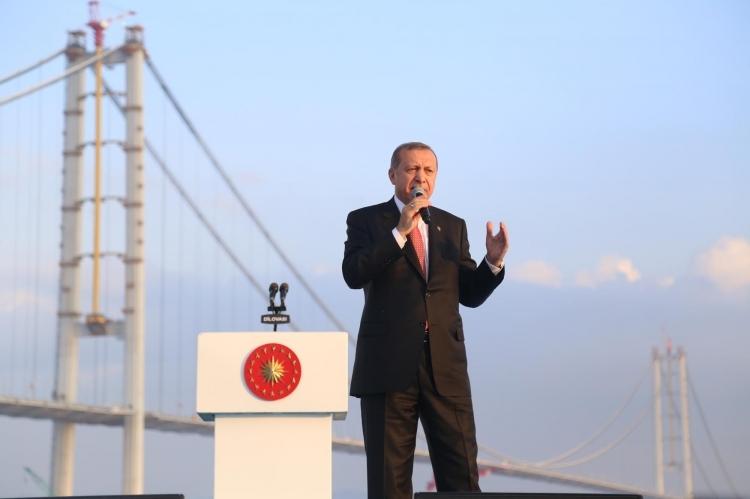 Osmangazi Köprüsü açıldı! Muhteşem kareler 105