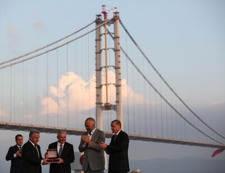 Osmangazi Köprüsü açıldı! Muhteşem kareler 106