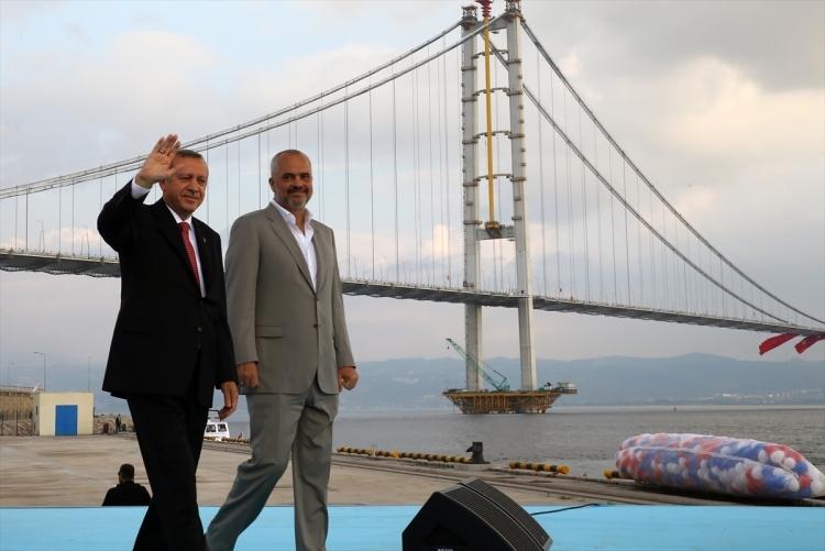 Osmangazi Köprüsü açıldı! Muhteşem kareler 108