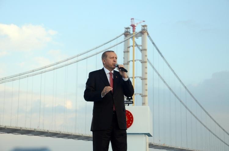 Osmangazi Köprüsü açıldı! Muhteşem kareler 109