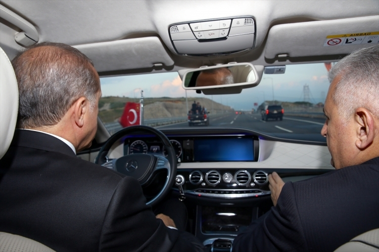 Osmangazi Köprüsü açıldı! Muhteşem kareler 11