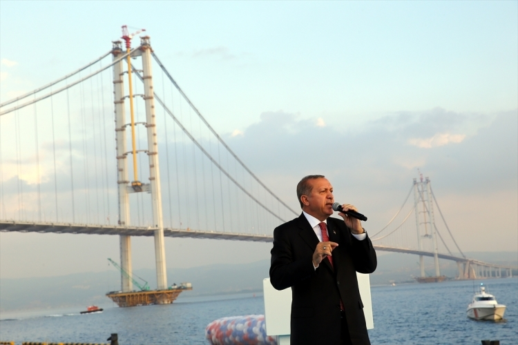 Osmangazi Köprüsü açıldı! Muhteşem kareler 112