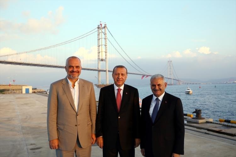 Osmangazi Köprüsü açıldı! Muhteşem kareler 114