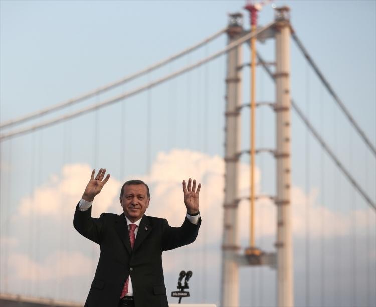 Osmangazi Köprüsü açıldı! Muhteşem kareler 12