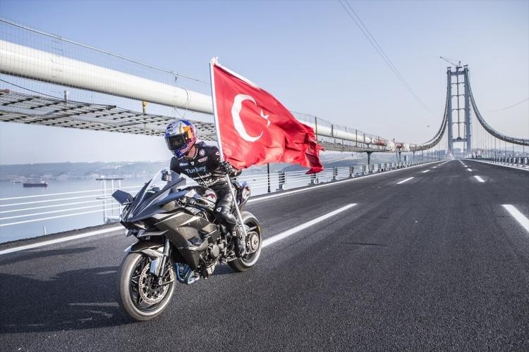Osmangazi Köprüsü açıldı! Muhteşem kareler 13