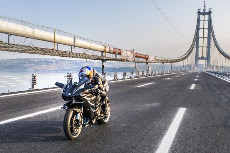 Osmangazi Köprüsü açıldı! Muhteşem kareler 14