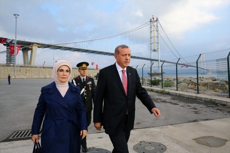 Osmangazi Köprüsü açıldı! Muhteşem kareler 15