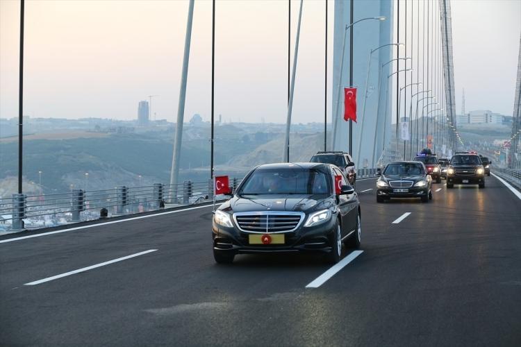 Osmangazi Köprüsü açıldı! Muhteşem kareler 16