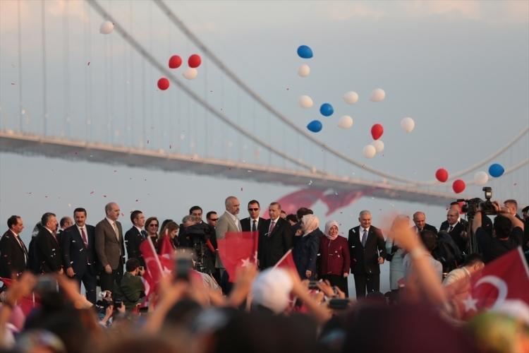 Osmangazi Köprüsü açıldı! Muhteşem kareler 18