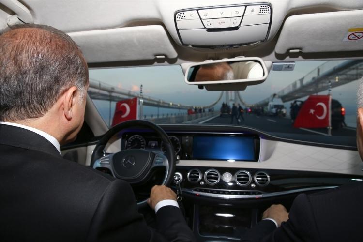 Osmangazi Köprüsü açıldı! Muhteşem kareler 2