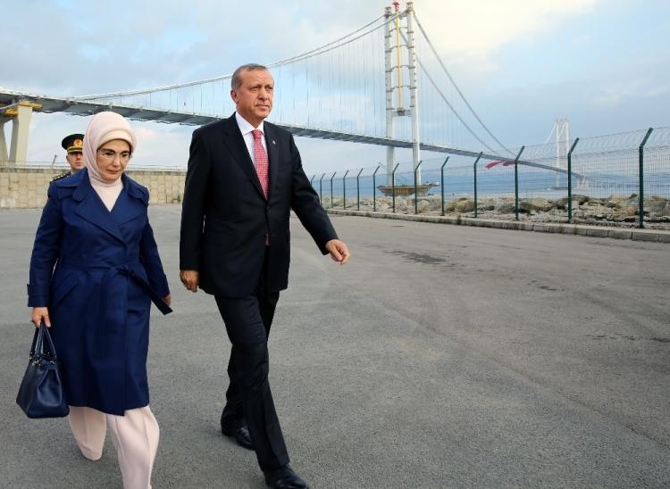 Osmangazi Köprüsü açıldı! Muhteşem kareler 21